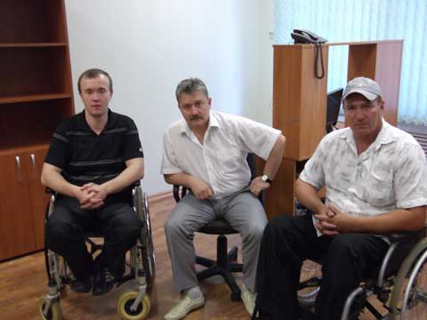 Пензенским инвалидам презентуют 5 германских колясок Отто Бокк
